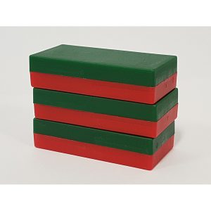 GoNo Go Plastic Magnets - RedGreen
