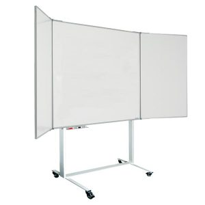 Magnetic-Mobile-Folding-Whiteboard