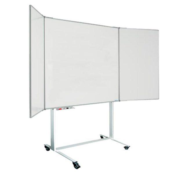 Magnetic-Mobile-Folding-Whiteboard