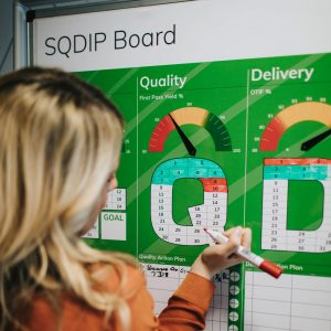 SQDIP overlay board