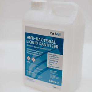 Clarisafe liquid hand sanitiser
