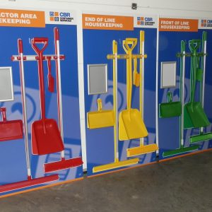 Cleaning stations - CBR