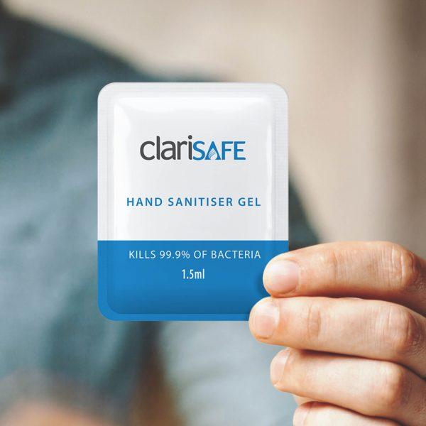 Hand Sanitiser Gel Sachets