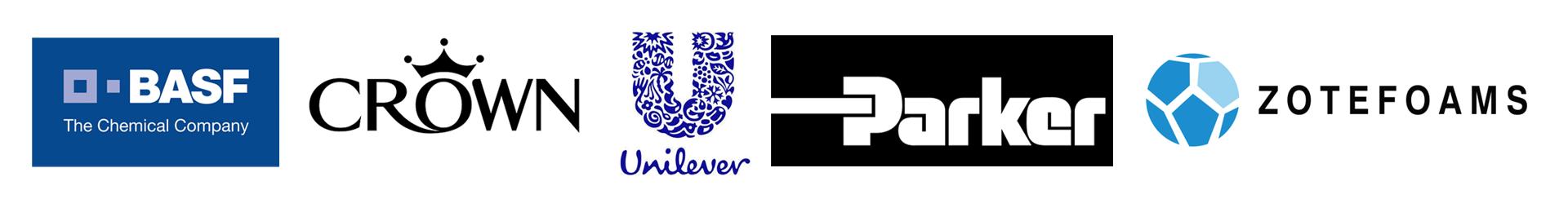 BASF, Crown, Unilever, Parker & Zotefoams