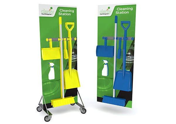 Cleaning Stations - Clarity Visual Management