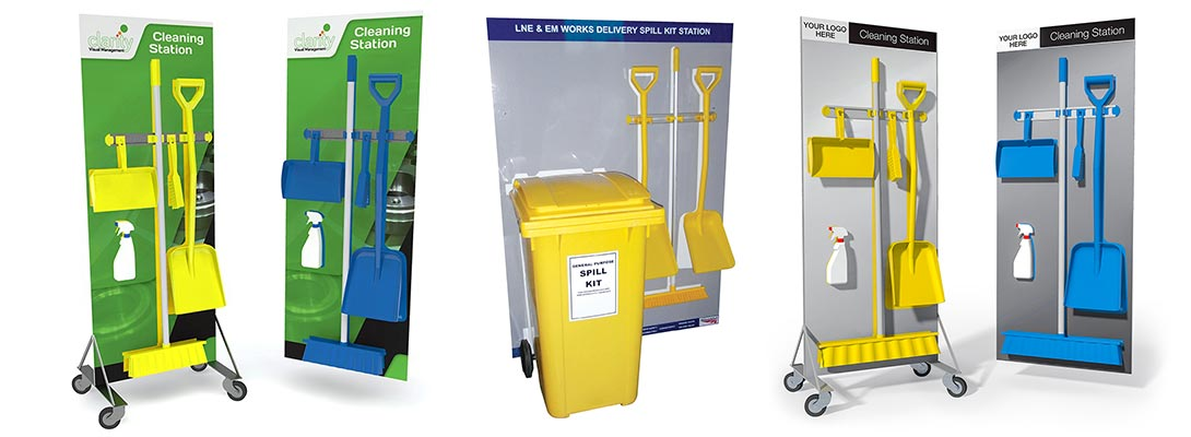 Clarity Cleaning Stations Product Range