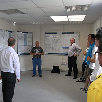 Clarity-Melton-House-Visual-Management-Meeting