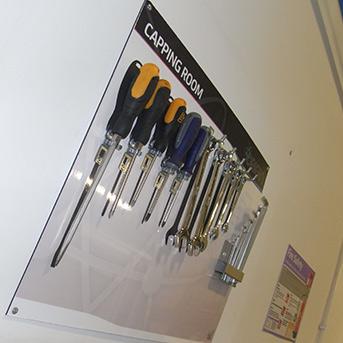 Clarity Tool Shadow Board