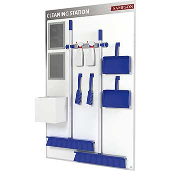 Clarity Sampson Cleaning Station