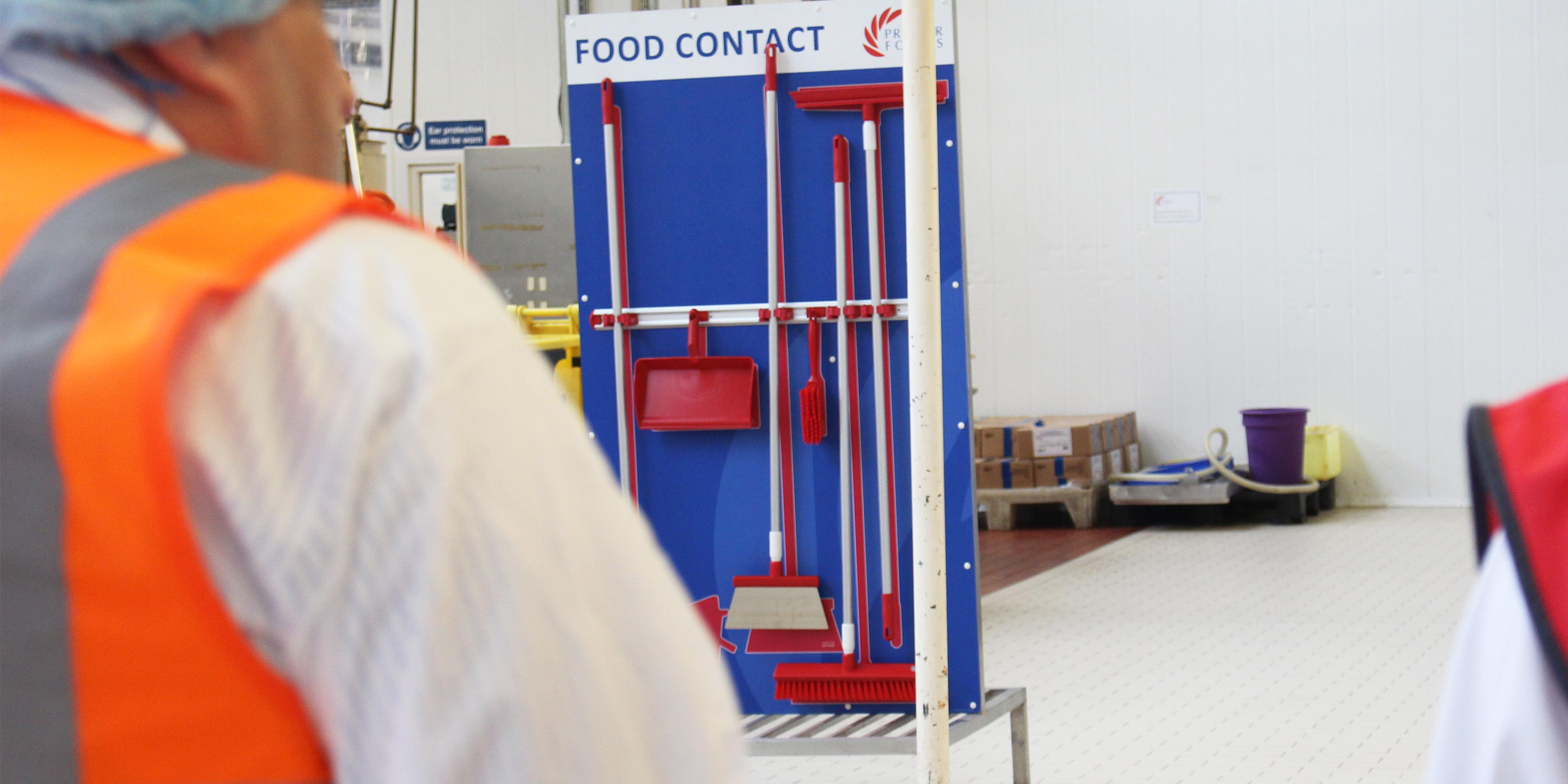 Premier Foods - Cleaning Stations - 5S Cleaning Station - Visual Management Examples - Clarity Visual Management