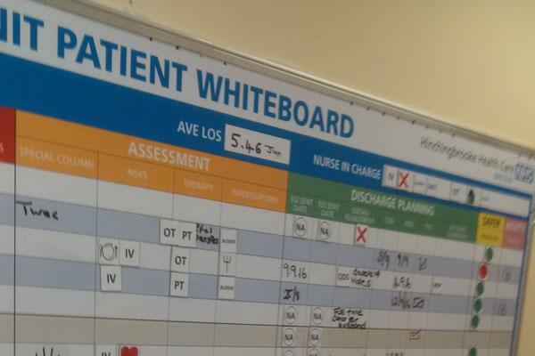 Patient Whiteboard