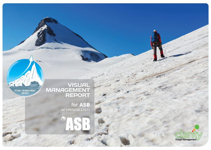 Sample Sherpa Report Brochure