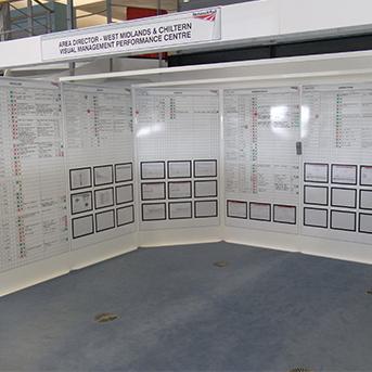 Clarity Network Rail Control Room