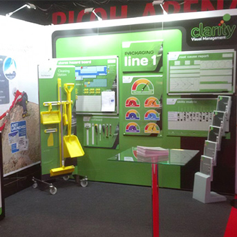 Clarity Visual Management MMS Stand 2016