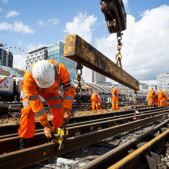 Clarity Visual Management Network Rail Case Study Workers