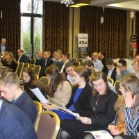 Clarity Visual Management School Event Audience