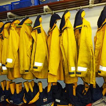 Aldeburge Lifeboat Station Lifejackets - Lean Thinking