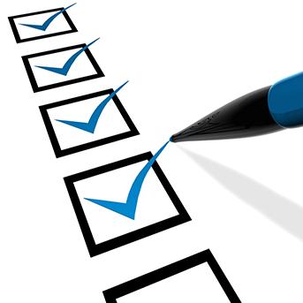 Goal Checklist - Clarity Visual Management