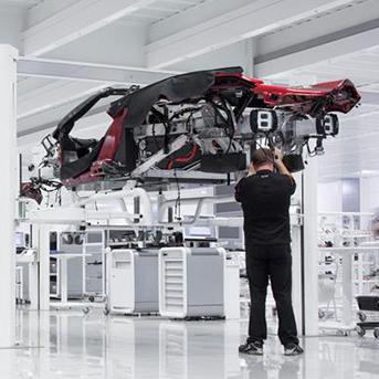 McLaren Automotive Production Line Manufacturer of the Year 2017