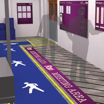 8 Practical Tips For Successful Visual Management - Clarity Visual Management - Floor Markings