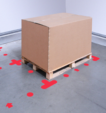 5s floor marking - pallet location
