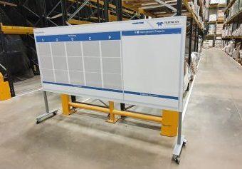 Heavy Duty Bespoke Whiteboard