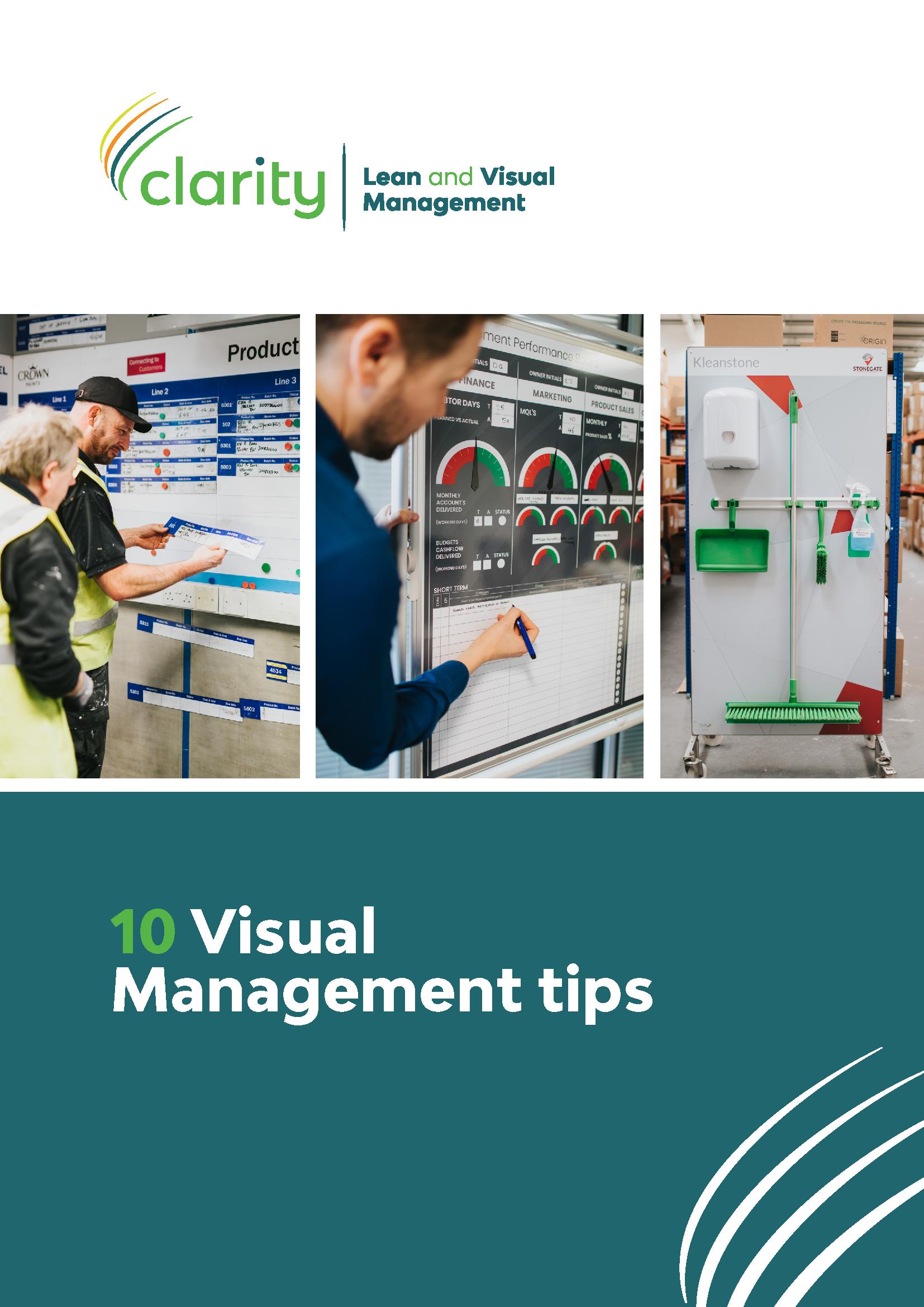 Clarity's 10 Top Tips Brochure
